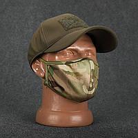 Маска для обличчя трикотажна багаторазова мультикам