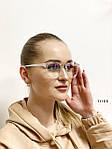 Имиджевые очки в прозрачной оправе с покрытием антиблик, фото 3
