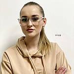 Имиджевые очки в прозрачной оправе с покрытием антиблик, фото 4