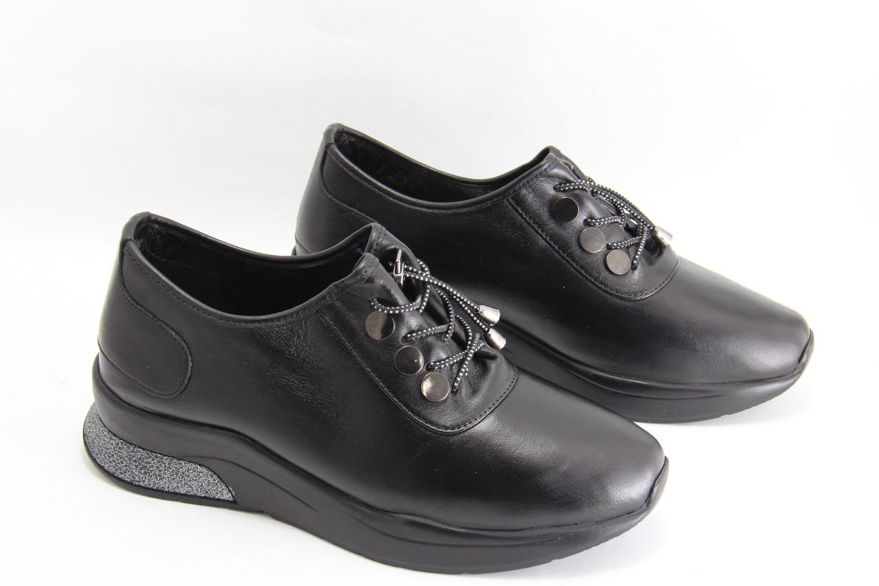 Кожаные женские кроссовки GUERO G007-0017-02