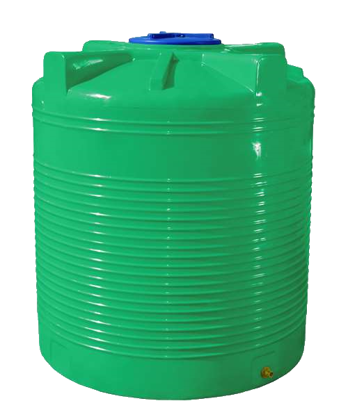 Емкость 3000 л ВО RVД зеленая