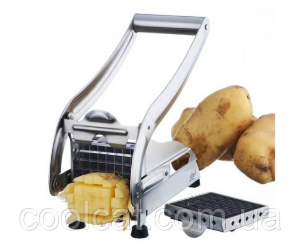 Стальная картофелерезка, овощерезка Potato Chipper
