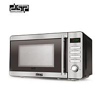 Побутова мікрохвильова свч піч для розігріву і приготування їжі на 20 л 1150 Вт DSP KB6002