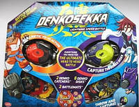 Набор для битвы Denkosekka Battle Set Buffalo vs Dragon Бык и Дракон