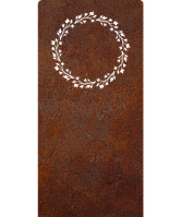 Надгробие из металла 50*103см*8мм. Мемориальная плита, памятник Классика 09, фото 1