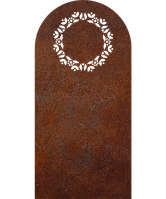 Надгробие из металла Классические гробницы 05 Сталь Сorten 6 мм