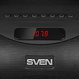 Колонка SVEN PS-425 Black (12 Вт, Bluetooth, FM, USB, microSD, LED-дисплей, 1500мА*год), фото 2