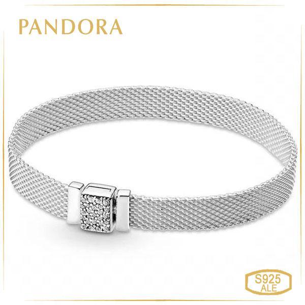 Пандора Браслет Pandora Reflexions с сияющей застежкой (16 см) 599166C01