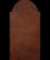 Надгробие из металла 50*103см*8мм. Мемориальная плита, памятник Классика 12, фото 1