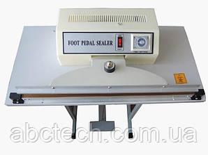 Ножний імпульсний зварювач пакетів FRT 1000 мм, шов 3 мм