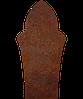 Надгробок з металу Класичні гробниці 10 Сталь Сorten 6 мм