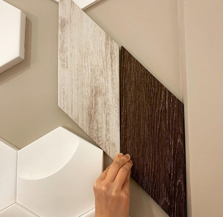 """Деревяные 3D панели """"Parker Wood""""  - цвет в ассортименте."""