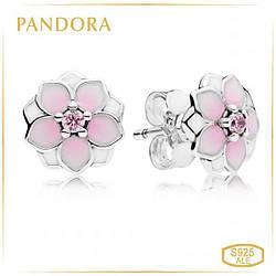 Пандора Серьги Магнолии Pandora 290739PCZ