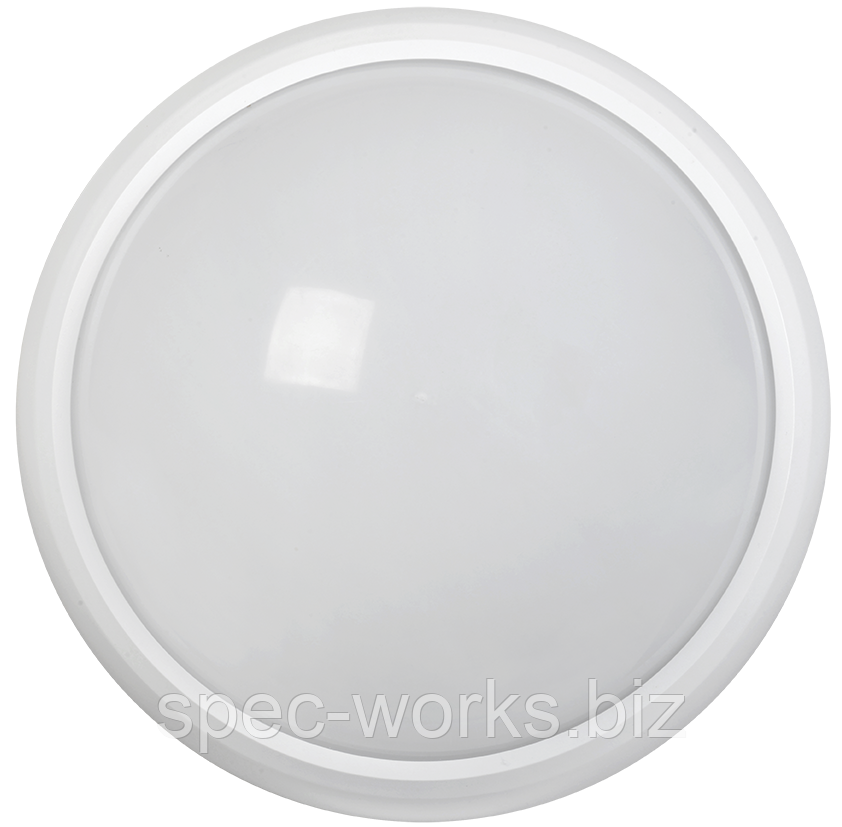 Світильник світлодіодний ДПО 5122Д 8Вт 6500K IP65 коло білий з акустичним датчиком IEK