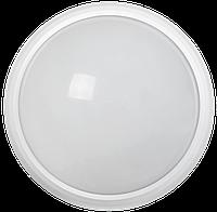 Светильник светодиодный ДПО 5042Д 12Вт 4000K IP65 круг белый с акустическим датчиком IEK