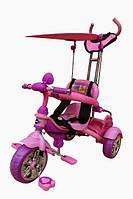 Велосипед 3-х колесный MarsTrike анимэ (розовый)