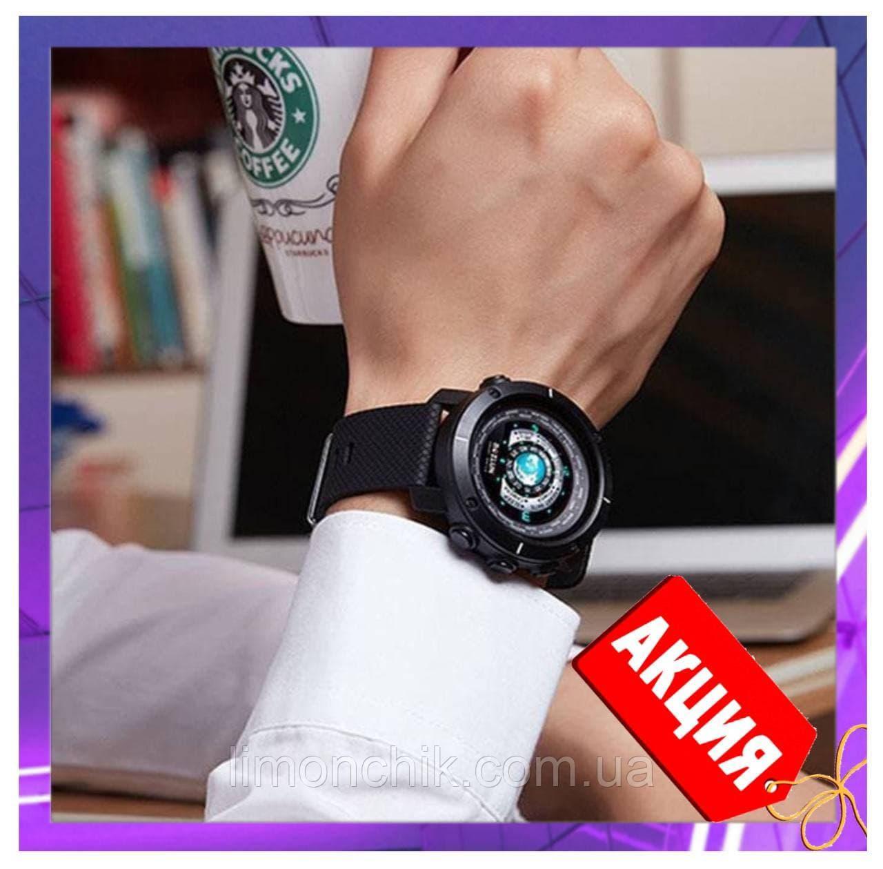 Смарт годинник розумні чоловічі BOZLUN Smart watch W30 фітнес трекер, чорні