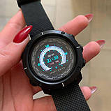 Смарт годинник розумні чоловічі BOZLUN Smart watch W30 фітнес трекер, чорні, фото 3