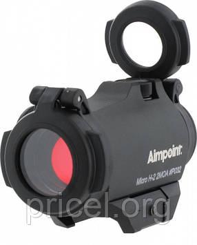 Коллиматорный прицел Aimpoint Micro H-2 2МОА Weaver/Picatinny с защитными крышками (200185)