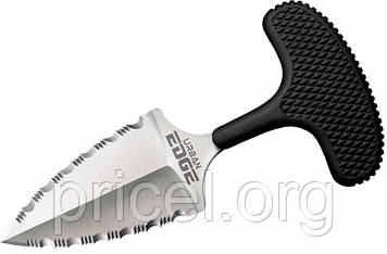 Нож с фиксированным клинком Cold Steel Urban Edge Double Serrated Edge (43XLSS)