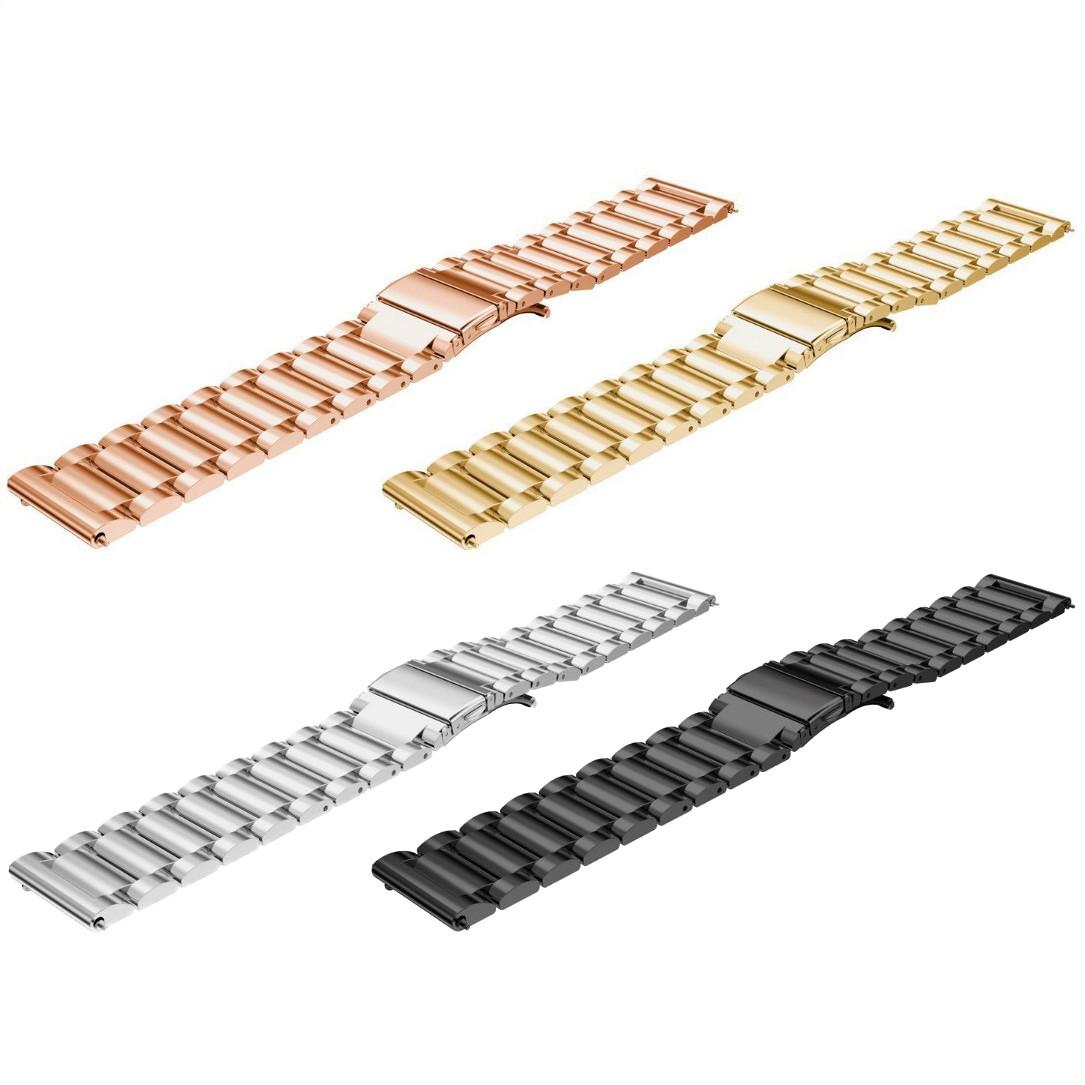 Браслет из нержавеющей стали для часов Samsung Galaxy Watch Active 20 мм