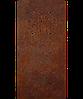 Надгробие из металла 50*103см*8мм. Мемориальная плита, памятник Классика 05