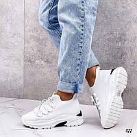 Білі літні жіночі кросівки, фото 1