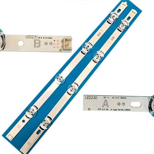 LED планка лампа подсветки ЖК 39, 807мм LG Innotek DRT 3.0 39, 100625