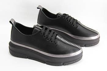 Стильные кроссовки на танкетке GUERO G352-492-10-71