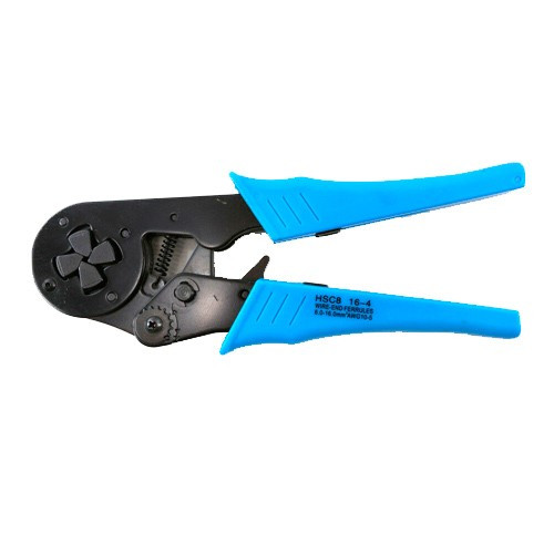 Кримпер клещи для обжима опрессовки наконечников 4-16мм2 HSC8 16-4, 102368