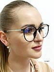 Имиджевые очки в черной оправе (антиблик), фото 2