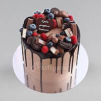 Подложка под торт двусторонняя 25 см