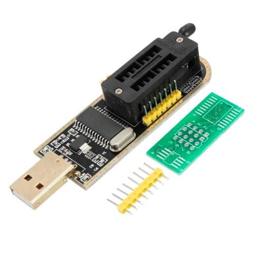 USB мини программатор CH341A 24 25 FLASH 24 EEPROM, 100885