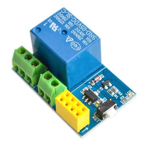 Модуль реле 1-канальный 5В для ESP8266 ESP-01S, 102638