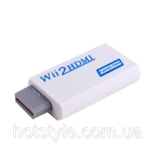 Конвертер Nintendo Wii - HDMI, видео, аудио, 1080p, адаптер, 100955