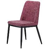 Стул обеденный ВИТТОРИО  меланж пурпур, фото 2