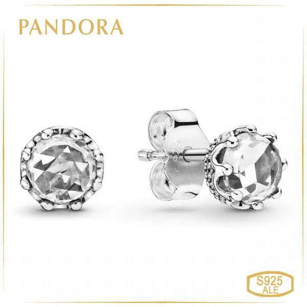 Пандора Серьги-пусеты «Безупречность» Pandora 298311CZ