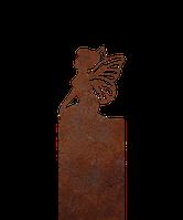 Надгробие из металла 50*81см*8мм. Мемориальная плита, памятник Детский 02, фото 1
