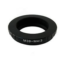 Адаптер переходник L39 M39 - Micro 4/3 M4/3 Ulata, 101044