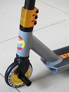 Самокат Трюковой Maraton Versa HIC ODG с пегами, Трюковый, колеса литые алюминиевые 110 мм, для трюков