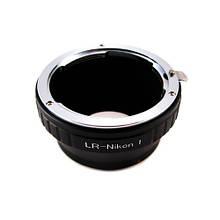 Адаптер переходник Leica R LR - Nikon 1 J1, кольцо Ulata, 101059