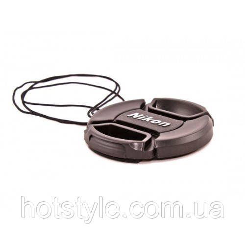 Крышка Nikon диаметр 77мм, с шнурком, на объектив, 104011