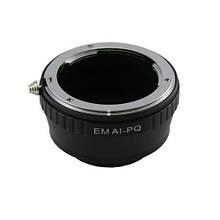 Адаптер переходник Nikon AI - Pentax Q (PQ) кольцо Ulata, 101093