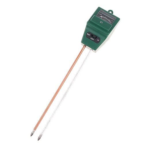 Аналізатор грунту 3в1 вимірювач pH, вологості, освітленості ETP-301, 101161