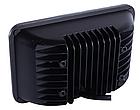 Фара LED прямоугольная 45W (15 диодов) (ближн. + дальний) (+ LED кольцо белое), фото 2