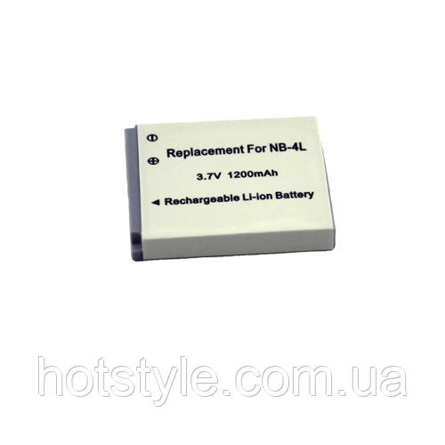 Батарея Canon NB-4L NB4L SD30 SD400 S