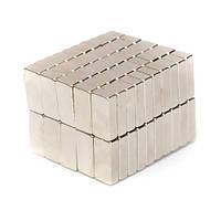 Магниты неодимовые сильные 15x5x3мм N35 10шт, 100915
