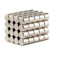 Магниты неодимовые сильные 5x5мм N35 10шт, 100535