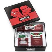Набор Для Бритья Proraso Red Vintage Selection Prima & Dopo Gift Set