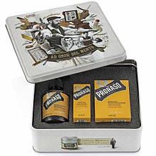 Набір Для Бороди Proraso Metal Box Beard Care Wood & Spice Gift Set
